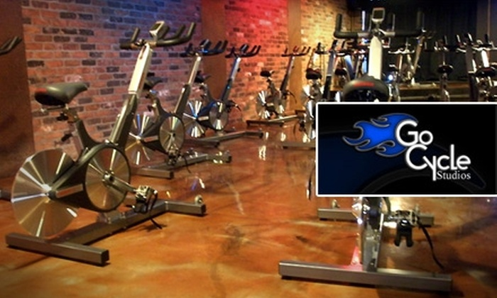Go Cycle Studios - Royal Oak: $25 for Five Spinning Classes at Go Cycle Studios