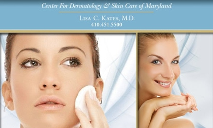 Center for Dermatology & Skin Care of Maryland - Crofton: $60 for Skin Analysis and Antioxidant Rejuvenating Facial Peel at Center for Dermatology & Skin Care of Maryland ($220 Value)