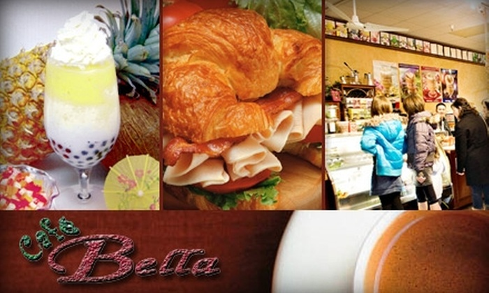 Cafe Bella - South Oklahoma City: $6 for $15 Worth of Bistro Bites and Beverages at Cafe Bella