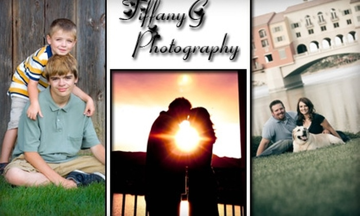 Tiffany G Photography - Las Vegas: $49 for a One-Hour Outdoor Photography Session and Prints from TiffanyG Photography