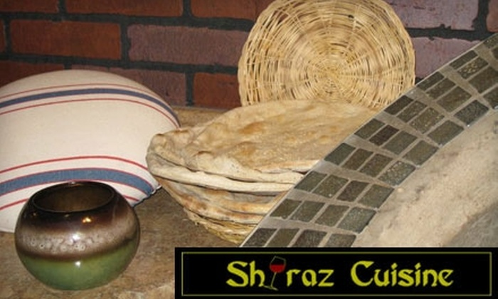 Shiraz Persian Cuisine - Watertown: Up to $25 Worth of Persian Fare at Shiraz Persian Cuisine. Choose Between Two Options.