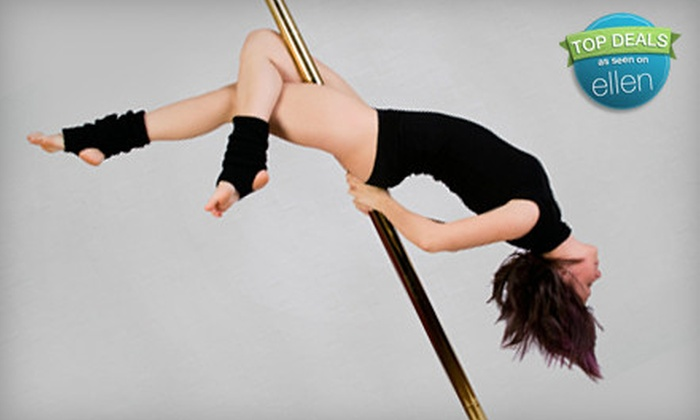Studio Rio's Twisted Fitness - North Central: 10 Pole and Fitness Classes or Four-Month Membership to Studio Rio's Twisted Fitness in Virginia Beach (Up to 77% Off)
