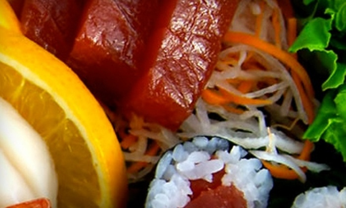 Edomae Sushi - Eldridge/ West Oaks: $10 for $20 Worth of Japanese Dinner Fare at Edomae Sushi (or $7 for $15 Worth of Lunch Fare)