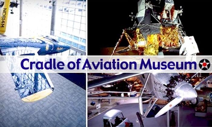 Cradle of Aviation Museum - East Garden City: $14 Admission for Two to the Cradle of Aviation Museum ($28 Value)