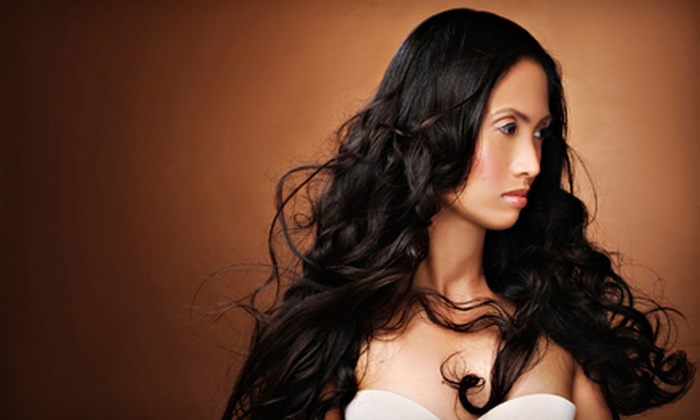 Angelo Mendi Boutique Salon - Stadium: $33 for Haircut and Style from John Bolton at Angelo Mendi Boutique Salon in Tacoma ($66 Value)
