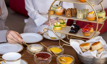 Afternoon Tea for Up to Four at Al Mesayan at 5* Jumeirah Al Wathba Desert Resort and Spa (Up to 55% Off)
