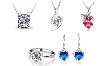 Sélection déstockage de bijoux ornés de cristaux Swarovski® dès 1,98€ (jusqu'à 95% de réduction)