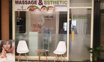 2 o 4 sesiones masaje a elegir desde 29,99 € en Centros de Masaje y Estética Maria Aponte