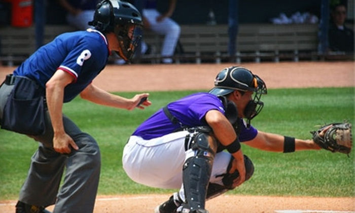 National College Baseball Hall of Fame - Downtown Lubbock: $5 for One Ticket to College Baseball's Night of Champions on July 3 in Lubbock ($10 Value)