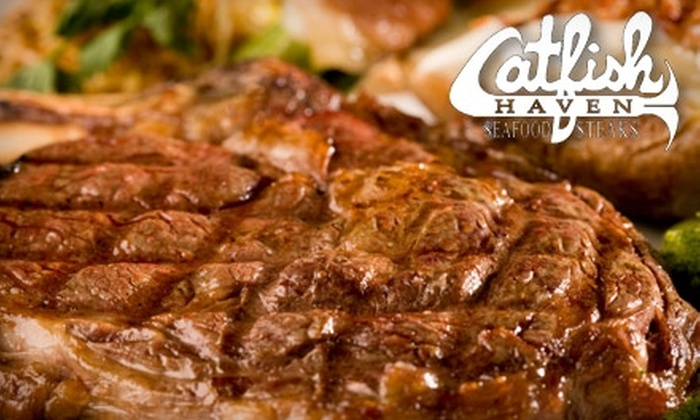 Catfish Haven - Fredericksburg: $15 for $30 Worth of Steaks, Oceanic Fare, and More at Catfish Haven in Fredericksburg