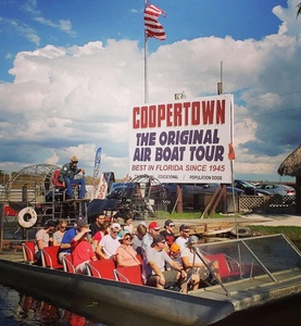 Everglades Airboat Tour for One, Two, or Four from Coopertown Airboat Tours (Up to 36% Off)