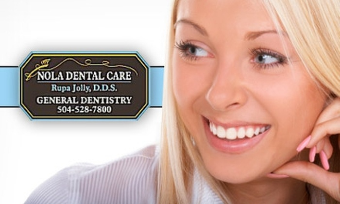 NOLA Dental Care - Central Business District: $59 for a New-Patient Exam, X-ray, and Cleaning or a Cosmetic Exam with a Take-Home Bleach Kit at NOLA Dental Care