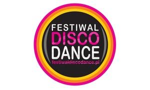 10 Festiwal Disco Dance: 10. Festiwal Disco Dance nad Zalewem Porajskim: 2 bilety za 54,99 zł i więcej opcji (do -41%)