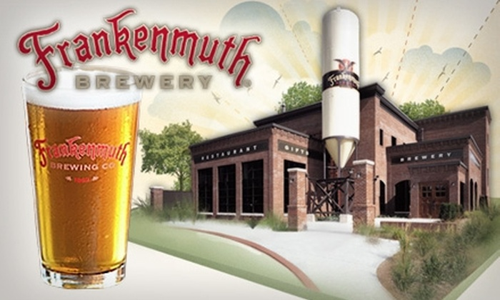 Frankenmuth Brewery - Frankenmuth: $10 for a Three-Beer Sampler, One Pint Glass, and $18 Worth of Beer and Pub Fare at Frankenmuth Brewery ($24.75 Value)