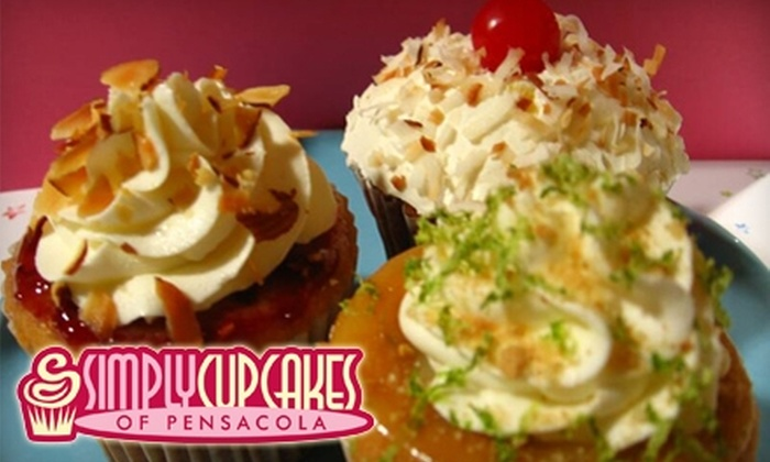 Simply Cupcakes of Pensacola: $10 for $20 Worth of Cupcakes from Simply Cupcakes of Pensacola
