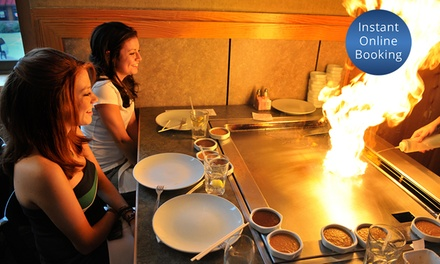 10-Dish Teppanyaki Dinner for One ($30), Two ($60), or Six People ($180) at Showchef Teppanyaki (Up to $294 Value)