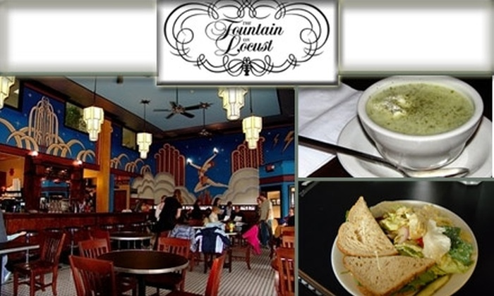 The Fountain on Locust  - St Louis: $8 for $20 Worth of Homemade Eats and Creative Treats at The Fountain on Locust