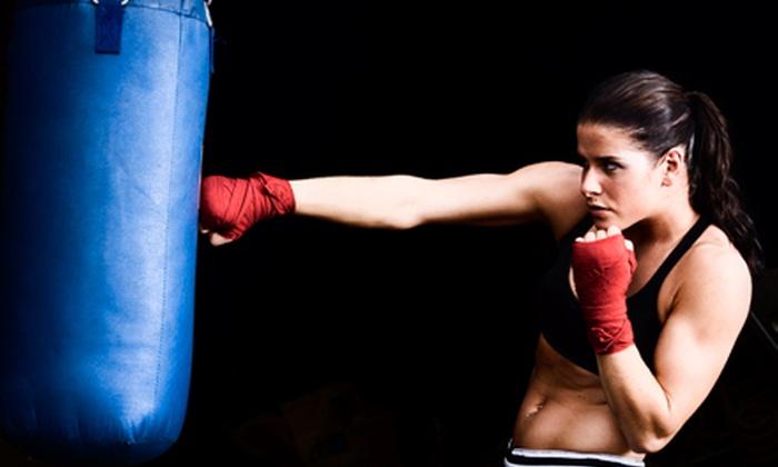 CKO Kickboxing - Carroll Gardens: 10 Classes or 10 Classes and Boxing Gloves at CKO Kickboxing in Brooklyn