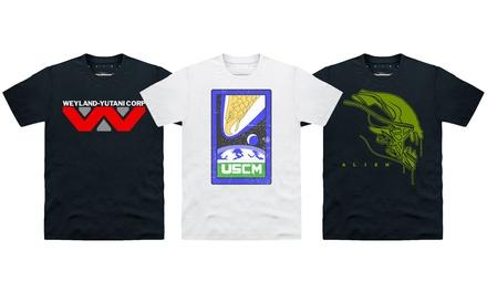 Men's Official Licensed Alien TShirts for £11.99
