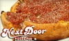 Next Door Pizza - Winterset: $10 for $20 Worth of Chicago-Style Pizza, Thin Crust Pizza, and Wings at Next Door Pizza & Pub