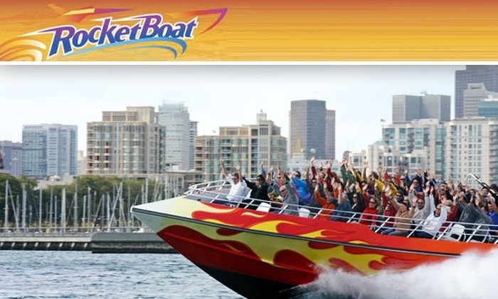 Blue and Gold Fleet - San Francisco: Blast Through SF Bay for Half Price on a RocketBoat Sightseeing Tour with a Friend
