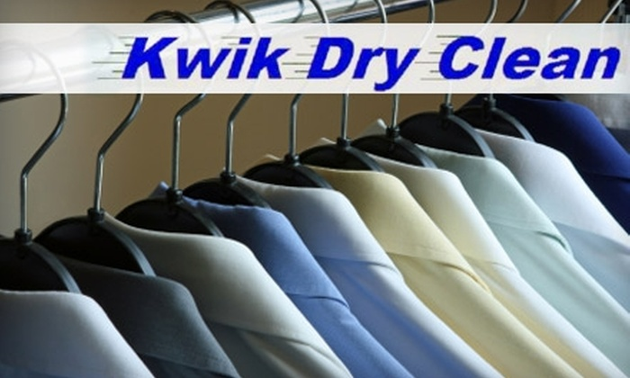 Kwik Dry Clean - Northwest Arvada: $10 for $20 Towards Any Dry Cleaning and Laundry Service at Kwik Dry Clean in Arvada