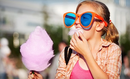 One-Day Cotton-Candy-Machine Rental with Mix and Cones for 60 Cotton Candies (an $85 value) - Kid Red Entertainment in
