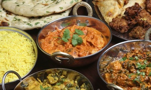 Golden Gate: Two-Course Indian Meal with a Glass of Wine for Two, Four or Six at Golden Gate (Up to 68% off)
