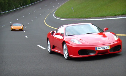 3-Lap Driving Experience in a Ferrari, Lamborghini or Aston Martin (a $399 value) - Racing Box in Jupiter