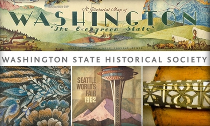 Washington State<br>History Museum - New Tacoma: $4 for General Admission to the Washington State History Museum ($8 Value)