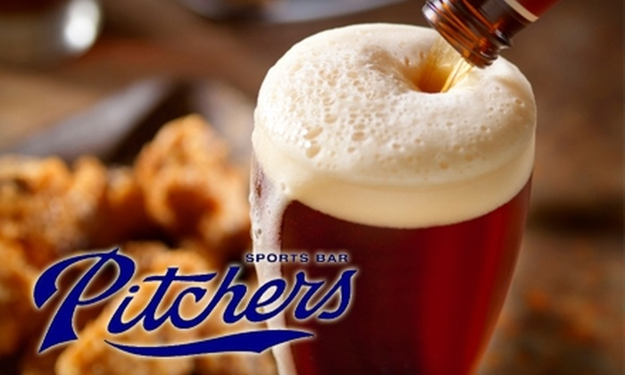 null - Rancho Penasquitos: $10 for $20 Worth of Casual Cuisine and Drinks at Pitchers Sports Bar