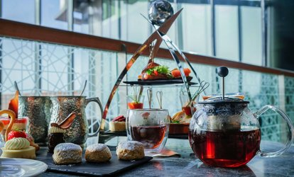 5* Afternoon Tea for Up to Four at Crystal Lounge, Rixos Premium