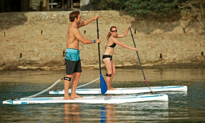 Napa Valley Paddle - Napa River: $185 for Standup Paddleboard Tour for Two with Harvest Celebration from Napa Valley Paddle ($319 Value)