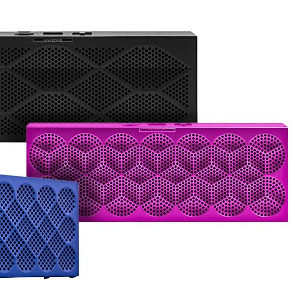 Silver or Purple Red MINI JAMBOX by Jawbone Wireless Bluetooth Speaker Blue