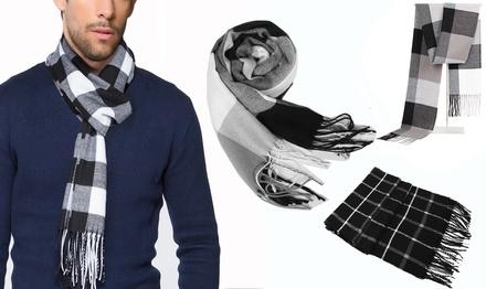 1 of 2 geruite herensjaals in model naar keuze vanaf € 14,99 tot korting