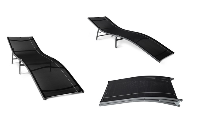 Tumbona plegable para la playa groupon goods for Tumbona plegable playa
