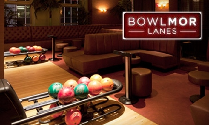 Bowlmor Lanes - Multiple Locations: $20 for $40 Worth of Bowling at Bowlmor Lanes. Choose Between Two Locations.