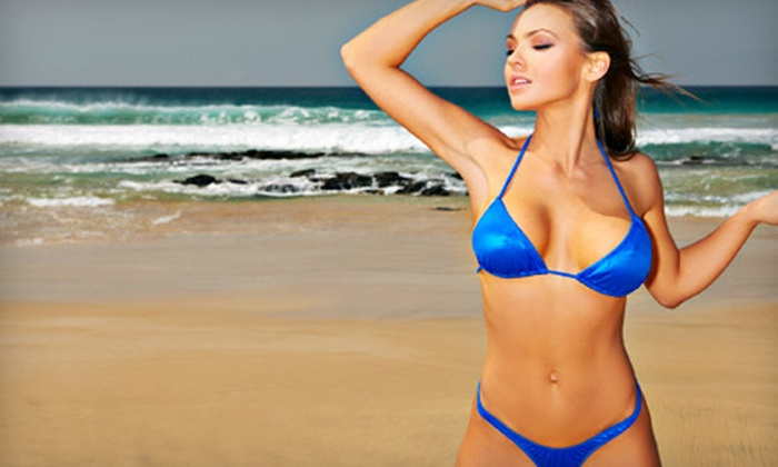 Sharper Image Tanning - Multiple Locations: One or Three Airbrush Spray Tans at Sharper Image Tanning (Up to 58% Off)