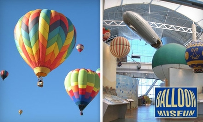 Anderson-Abruzzo International Balloon Museum Foundation - Wildflower Area: $29 for a One-Year Family Membership to the Anderson-Abruzzo International Balloon Museum ($60 Value)