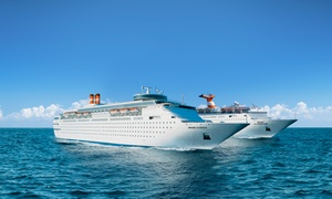 Bahamas Cruise for Two Guests Departing from West Palm Beach, FL at Bahamas Cruise for Two People from Bahamas Paradise Cruise Line, plus 6.0% Cash Back from Ebates.