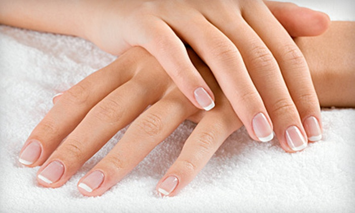 Trix Spa - Richmond: $25 for a French Manicure with Shellac Gel Polish at Trix Spa in Richmond ($55 Value)