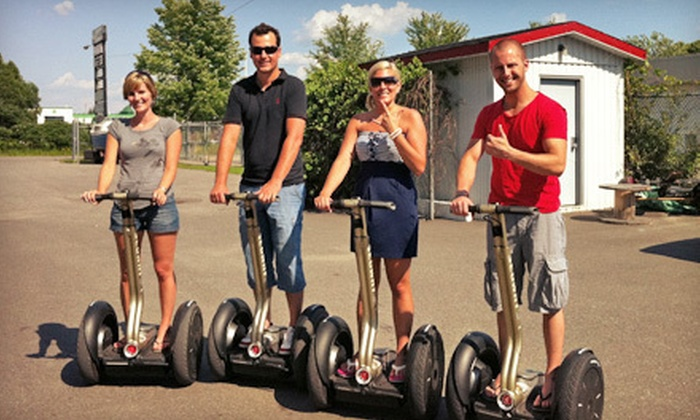 Ottawa/Gatineau Segway Tours - District de Limbour: Two-Hour Segway Rental for One or Four at Ottawa/Gatineau Segway Tours in Gatineau (Up to 55% Off)