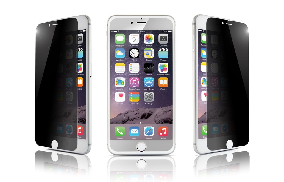 Tempered-Glass Screen Protector for iPhone 5S/SE, 6/6S, or 6 Plus/6S Plus (2-Pack)