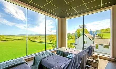 Conwy, North Wales: 1 Night with Breakfast, Dinner, Spa Access and Optional Treatment at The 4* Kinmel Hotel