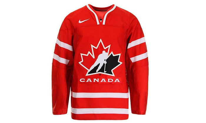 50e4b90f7 Nike Team Canada Hockey Jerseys