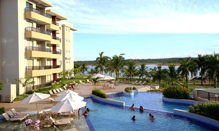 Caldas Novas/GO: até 7 noites para 2 adultos e 2 crianças no Marina Flat & Náutica