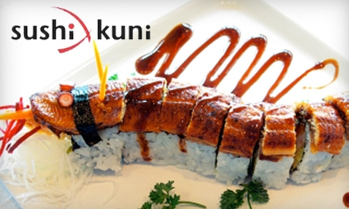 Sushi Kuni - Grand Rapids: $20 for $40 Worth of Japanese Cuisine and Beverages at Sushi Kuni