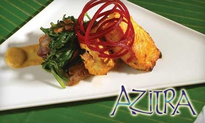 Azitra - Umstead: $20 for $40 Worth of Upscale Indian Fare and Drinks at Azitra