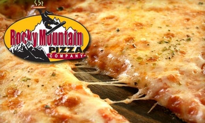 Rocky Mountain Pizza Company - Home Park: $7 for $15 Worth of Pizza, Wings, and More at Rocky Mountain Pizza Company
