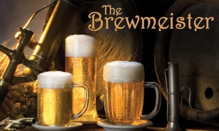 The Brewmeister - Folsom Industrial Park: $20 for a Three-Hour Beginner Beer-Brewing Class and Lunch at The Brewmeister ($40 Value). Choose One of Three Dates.